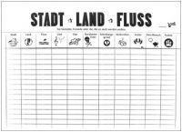 Trendform Switzerland Papiertischset: STADT-LAND-FLUSS - A3, 50er Block